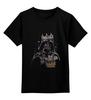 """Детская футболка классическая унисекс """"Dark side"""" - darth vader, дарта вейдера, звёздные войны"""