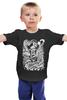 "Детская футболка классическая унисекс ""Art Horror"" - skull, zombie, зомби, пират, pirate"