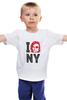 """Детская футболка классическая унисекс """"Escape from New York / Побег из Нью Йорка"""" - new york, ny, нью йорк, курт рассел, побег из нью йорка"""