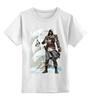 """Детская футболка классическая унисекс """"Assassin's creed IV Black flag"""" - игра, assassins creed, пираты, pc, геймер, black flag, assassin's creed, эдвард кенуэй, корсары, компьютерные"""