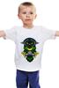 """Детская футболка классическая унисекс """"грустная сова"""" - авторские майки, сова"""
