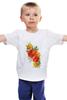 """Детская футболка """"""""Flowers"""""""" - цветы, футолка, креатив, красивые, цветное"""