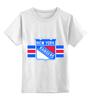 """Детская футболка классическая унисекс """"Нью-Йорк Рейнджерс """" - хоккей, nhl, нхл, new york rangers, нью-йорк рейнджерс"""