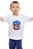 "Детская футболка ""Лев #ЦАРЬ"" - царь, king, лев, lion"