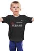 """Детская футболка классическая унисекс """"ЖелайДелай (серия желайделай) на темном"""" - желайделай, желай, делай"""