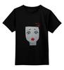 """Детская футболка классическая унисекс """"""""(Не)мое лицо"""""""" - арт, девушка, girl"""