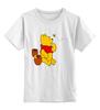 """Детская футболка классическая унисекс """"Винни Пух"""" - винни пух, дисней, детям, winnie the pooh, honey"""