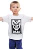"""Детская футболка классическая унисекс """"Некрон (Черный Фонарь)"""" - dead, obey, некрон, nekron, черный фонарь"""