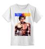 """Детская футболка классическая унисекс """"Ivan Drago & Rocky"""" - rocky, сильвестр сталлоне, sylvester stallone, ivan drago, dolph lundgren"""