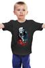 """Детская футболка классическая унисекс """"Панда Хоккеист"""" - спорт, панда, panda, хоккей"""