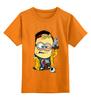 """Детская футболка классическая унисекс """"Миньон Джесси Пинкман"""" - во все тяжкие, миньоны, breaking bad, гадкий я, джесси пинкман"""