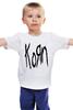 "Детская футболка ""Korn (KoЯn)"" - korn, ню-метал"