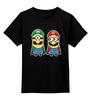 """Детская футболка классическая унисекс """"Братья Марио (Миньоны)"""" - миньон, гадкий я, minion, mario bros, братья марио"""