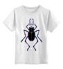 """Детская футболка классическая унисекс """"Жук и Алмаз"""" - насекомое, жук, алмаз, diamond, драгоценности"""