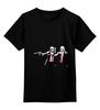 """Детская футболка классическая унисекс """"Star fiction"""" - star wars, звездные войны, криминальное чтиво, pulp fiction"""