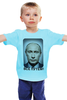 """Детская футболка классическая унисекс """"ВСЁ ПУТЁМ"""" - президент, putin, владимир путин, всё путём"""