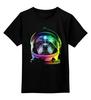 """Детская футболка классическая унисекс """"Собака Космонавт"""" - космос, собака, абстракция, галактика, космонавт"""