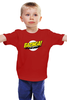"Детская футболка ""Шелдон Купер - Bazinga"" - the big bang theory, bazinga, шелдон, теория большого взрыва, sheldon cooper"