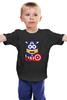 """Детская футболка классическая унисекс """"Капитан Миньон"""" - миньон, гадкий я, captain america, капитан миньон"""