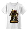 """Детская футболка классическая унисекс """"World of Warcraft"""" - warcraft, blizzard, ворд варкравт, world warcraft, мир военного ремесла"""