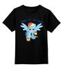 """Детская футболка классическая унисекс """"Come at me bro!"""" - арт, pony, mlp, пони"""