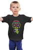 """Детская футболка """"Череп """"Рок-н-Ролл"""""""" - skull, череп, mexican skull"""