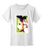 """Детская футболка классическая унисекс """"Леди Гага (Lady Gaga)"""" - lady gaga, леди гага"""