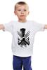 """Детская футболка классическая унисекс """"Росомаха"""" - росомаха, wolverine"""