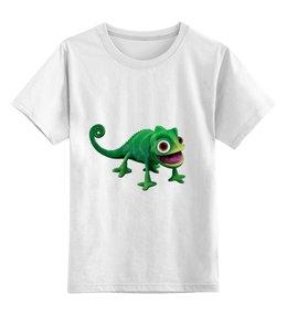 """Детская футболка классическая унисекс """"Футболка из серии """"Хамелеон"""""""" - прикольные, оригинально"""