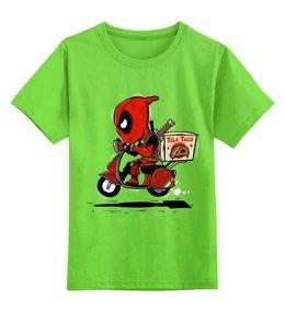 "Детская футболка классическая унисекс ""Дэдпул"" - дэдпул, deadpool"