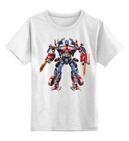 """Детская футболка классическая унисекс """"Transformers"""" - авторские майки, transformers, трансформеры"""