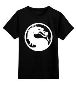 """Детская футболка классическая унисекс """"Mortal Kombat (Мортал Комбат)"""" - mortal kombat, mk, cмертельная битва, мортал комбат"""