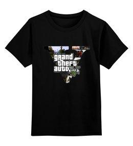 """Детская футболка классическая унисекс """"GTA 5"""" - игры, gta, гта"""