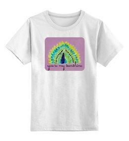 """Детская футболка классическая унисекс """"Детская Жар Птица"""" - сказка, яркая, красивая, жар-птица"""