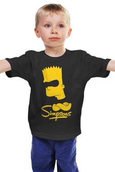 """Детская футболка """"Барт Симпсон"""" - симпсоны, the simpsons, bart, барт симпсон"""