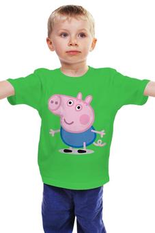 "Детская футболка ""Свинка Пеппа "" - peppa pig"