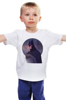 "Детская футболка ""Batman/Бэтмен"" - комиксы, batman, бэтмен, dc comics"
