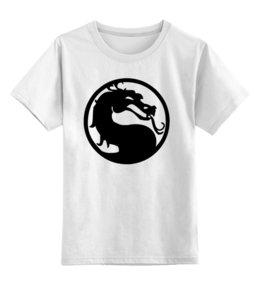 """Детская футболка классическая унисекс """"Mortal Kombat (Мортал Комбат)"""" - mortal kombat, mk, cмертельная битва"""
