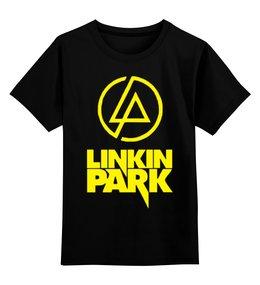 """Детская футболка классическая унисекс """"Linkin Park """" - rock, альтернативный рок, alternative rock"""