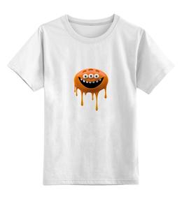 """Детская футболка классическая унисекс """"Глазастик"""" - арт"""