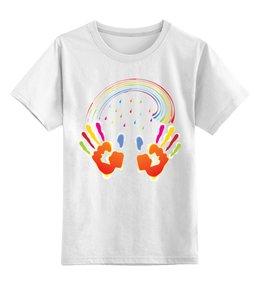 """Детская футболка классическая унисекс """"Миру Мир!"""" - мир, дети, добро"""