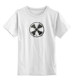 """Детская футболка классическая унисекс """"Логотип гранж"""" - сталкер, тёмная душа"""
