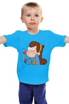 "Детская футболка "" Gravity Falls "" - гравити фолз, мэйбл пайнс"