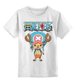 """Детская футболка классическая унисекс """"One Piece"""" - аниме, манга, ван пис, one piece, тони тони чоппер"""