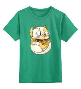 """Детская футболка классическая унисекс """"Милый котик"""" - кот, кошка, котик, животное, котёнок"""