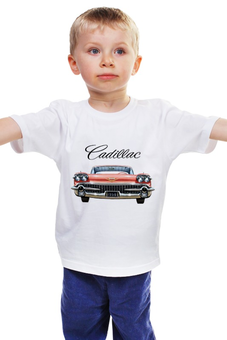"Детская футболка ""CADILLAC"" - style, стиль, car, cadillac, oldtimer"