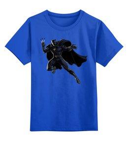 """Детская футболка классическая унисекс """"Черная Пантера"""" - черная пантера, black panther"""
