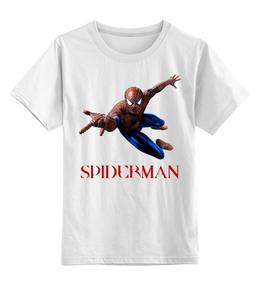 """Детская футболка классическая унисекс """"Человек-Паук"""" - marvel, spiderman, человек-паук"""