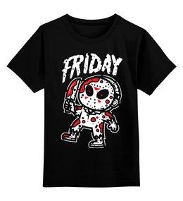"""Детская футболка классическая унисекс """"Джейсон Вурхиз"""" - пятница 13-е, джейсон вурхиз, джейсон"""