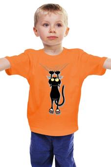 """Детская футболка классическая унисекс """"Кошечка"""" - цап-царап"""